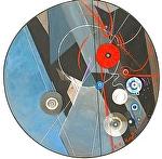 """All on Record"" by KiKi Kaye Acrylic ~ 32"" x 32"""
