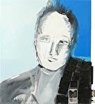 """""""www. com"""" by KiKi Kaye Oil ~ 32"""" x 28"""""""