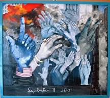 """9. 11. 2001"" by KiKi Kaye Oil ~  x"