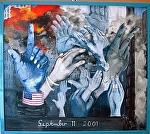 """""""9. 11. 2001"""" by KiKi Kaye Oil ~  x"""