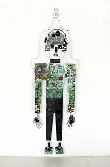 """Master of  All Devices"" by KiKi Kaye  ~ 68 x 26"