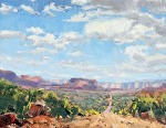 Sedona Off Road by Mike Bagdonas Oil ~ 14 x 18