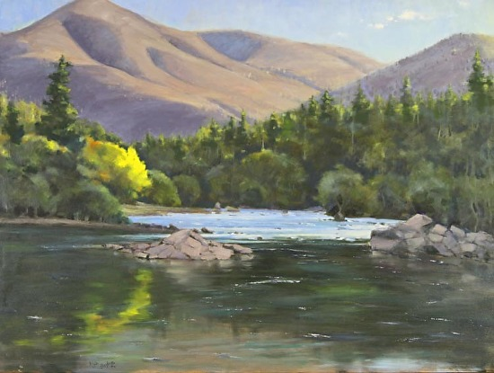 American River First Light - Oil