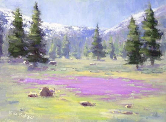Camas Bloom - Oil