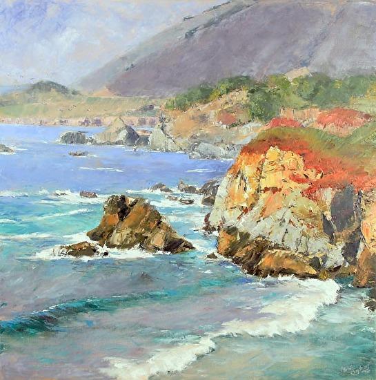 Coastal Kaleidoscope - Oil