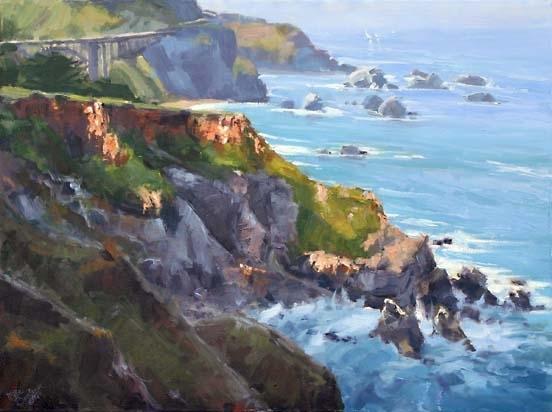 Morning Coastal beauty