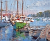 "Camden Windjammer by Mike Bagdonas Oil ~ 20"" x 24"""