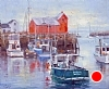 "Rockport Harbor View by Mike Bagdonas Oil ~ 20"" x 24"""
