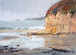 "Pt Reyes Beach View by Mike Bagdonas Oil ~ 6"" x 8"""