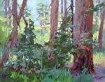 Among The Giants by Mike Bagdonas Oil ~  x
