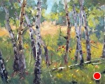 Paint Brush Morning by Mike Bagdonas Oil ~ 11 x 14