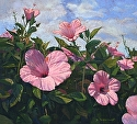 "Springing to Heaven by Brian Sauerland Pastel ~ 20"" x 22"""