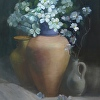 Dogwood and tuscan jug