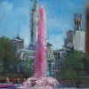 Fountain for Breast Cancer, Love Park