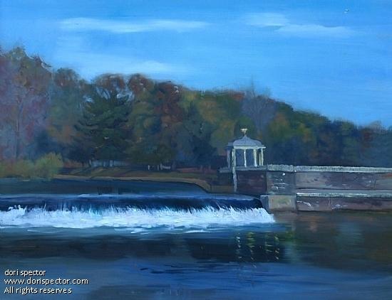 """Schuylkil River"" - Oil"