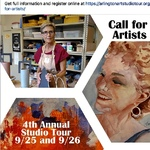 Viondette Lopez - FALL/Sept, Arlington Visual Art Studio Tour, AVAST
