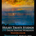 John Hulsey - Invitation - Live Online Watercolor Class