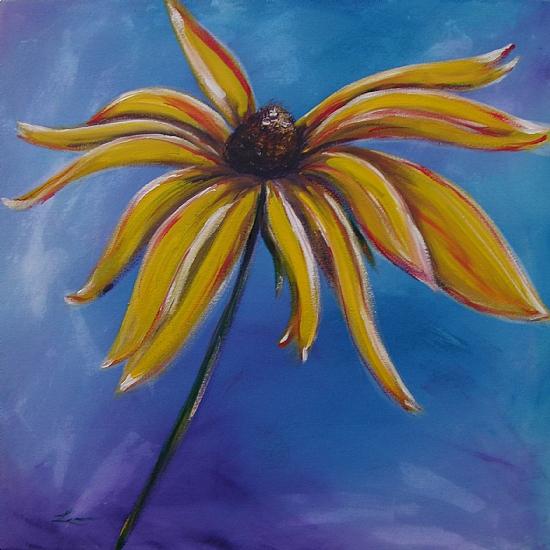Susan Sunshine by Michelle Leivan Acrylic ~ 24 x 24