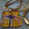 Necklace - Evening Welcome by Michelle Leivan Glass ~ 1 x 1