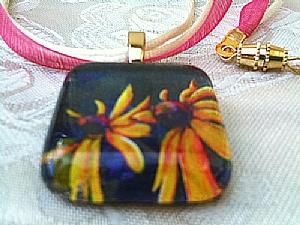 Kansas Wildflower Necklaces