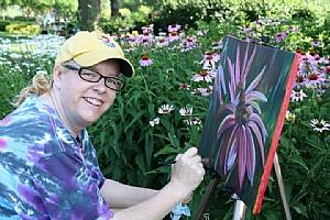 Michelle Leivan at Ensley Gardens