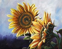 One of three accepted entries of Michelle Leivan's in the Kansans Paint Kansas Competition