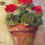 Anne Marie Propst - Flowers in Gouache