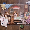Dogs Playing Poker AGAIN! by Jay Davenport - Oil