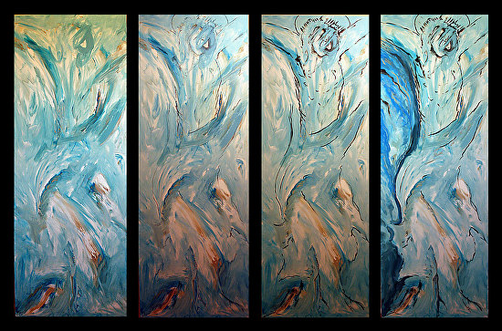 Process Triptych 1 -
