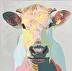 Pastel Cow by Micki Thomas