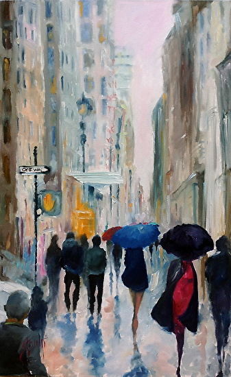 Seventh Avenue - Oil