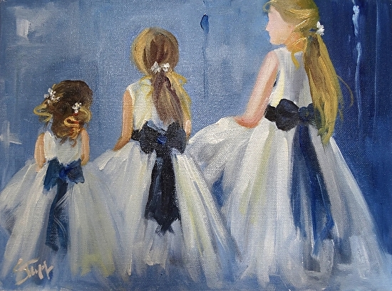 Three Graces - Oil