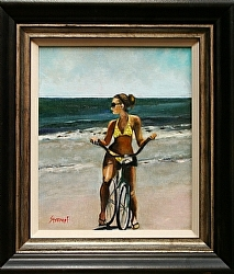Brittany by Gina Strumpf Oil ~  x