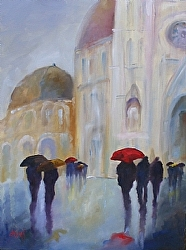 """Ciao Bella"" by Gina Strumpf Oil ~ 40 x 30"