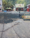 Old Town by Robert Sandidge Oil ~ 20 x 16