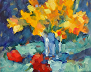 Daffodil Time by Karen Meredith Oil ~ 8 x 10