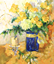 Flourishes by Karen Meredith Oil ~ 24 x 20