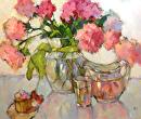 Pink Lemonade by Karen Meredith Oil ~ 20 x 24