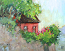 Nestled by Karen Meredith Oil ~ 8 x 10