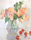 Summer is Here by Karen Meredith Oil ~ 14 x 11