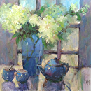 Join Me by Karen Meredith Oil ~ 30 x 30