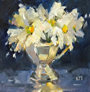 Etude by Karen Meredith Oil ~ 6 x 6