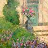 Flowered Entry