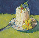Special by Karen Meredith Oil ~ 6 x 6