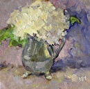 Bloom by Karen Meredith Oil ~ 6 x 6