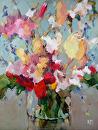 Splendor by Karen Meredith Oil ~ 12 x 9