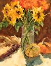 Harvest by Karen Meredith Oil ~ 14 x 11