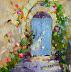 French Door by Karen Meredith