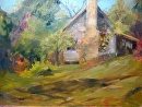Carolina Cottage by Karen Meredith Oil ~ 11 x 14
