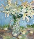 Burst of Lilies by Karen Meredith Oil ~ 24 x 20